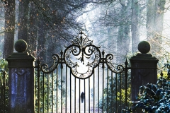 The gates are closed
