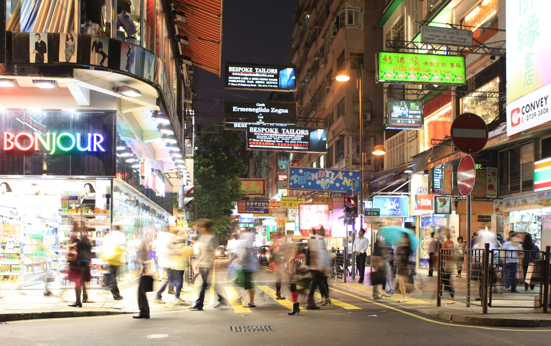 Streets of Hong Kong (c) Bart Coolen