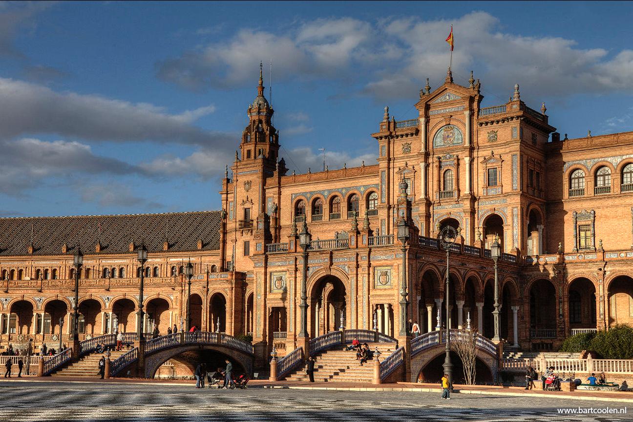 Plaza de Espana, Seville, Sevilla Andalucia, Spain (c) Bart Coolen