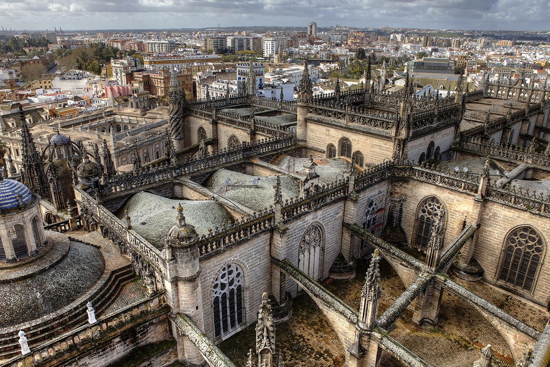 Rooftops of Seville, Spain (c) Bart Coolen