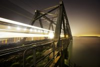 Spoorbrug Moerdijk, mooi brabant, vervoer, spoor, trein, vrachtverkeer, spoorwegen, ns, haven antwerpen, rotterdam, (c) Bart Coolen