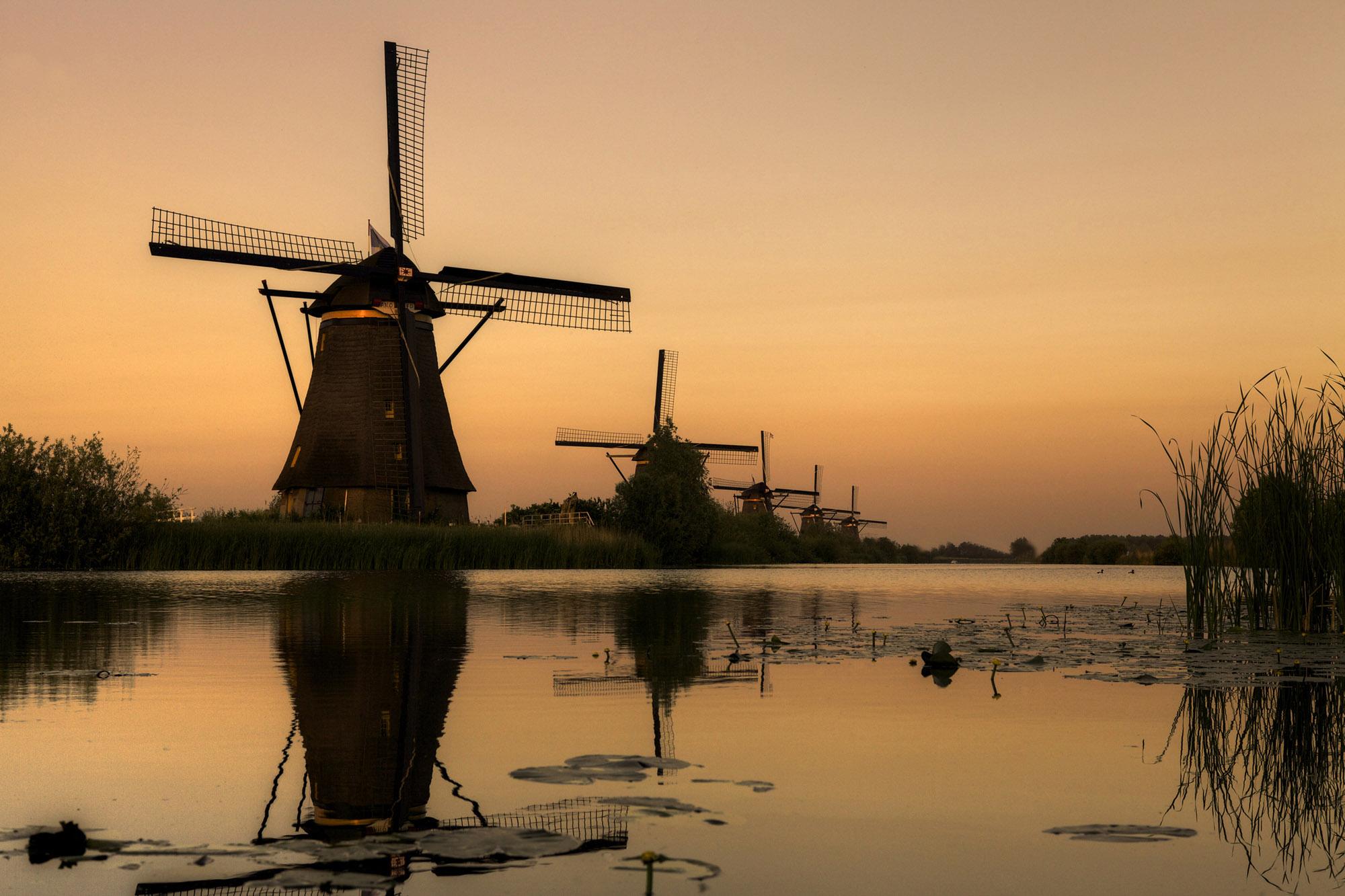 Mills of kinderdijk, the netherlands, molens, (c) Bart Coolen