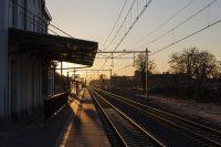 Railway Station Oisterwijk Mooi Brabant, spoorweg, spoorwegen, nederland, nederlandse, ns, brabant, landschap, station