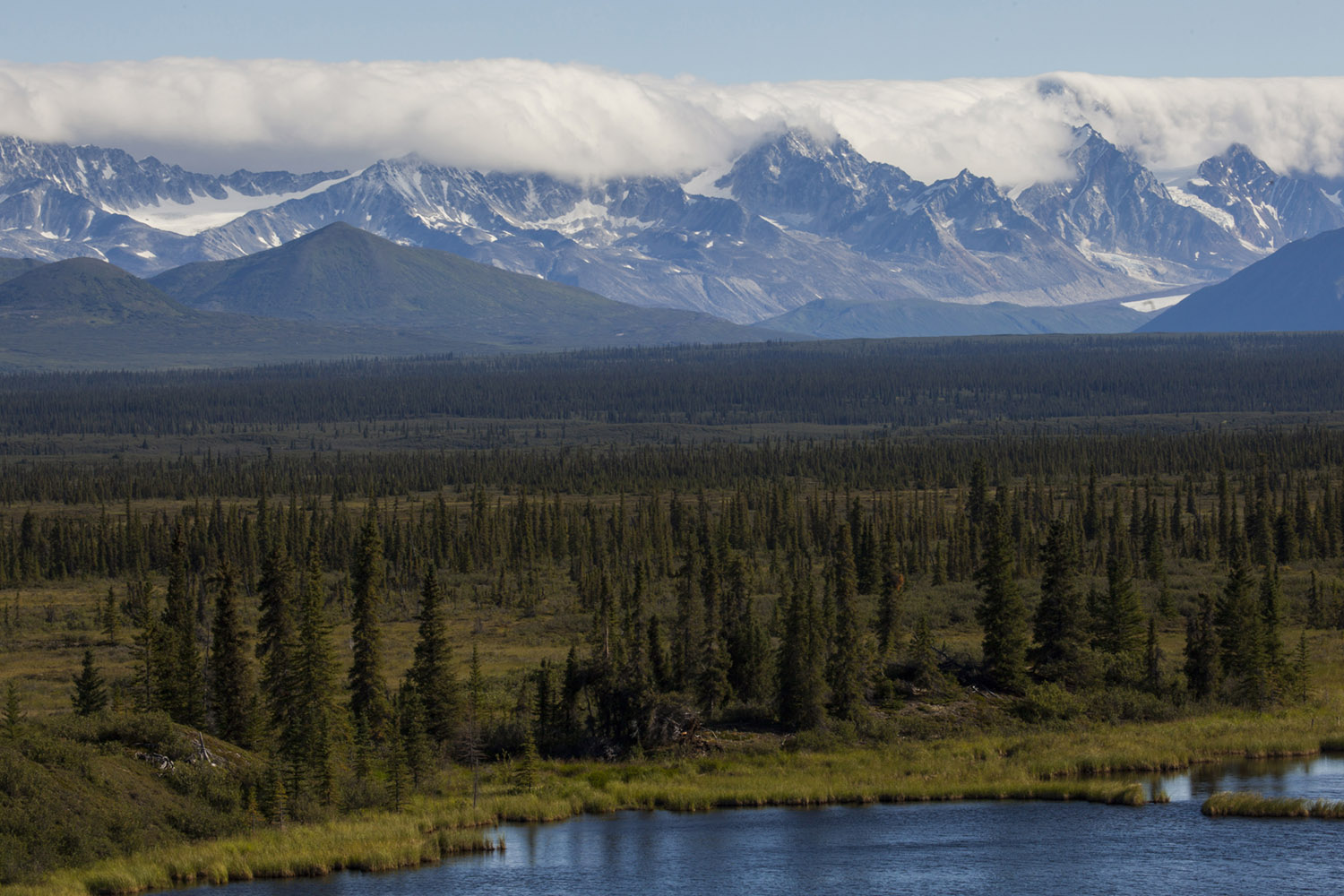 Mighty Mountains of Alaska (Wrangell & St. Elias Wilderness) (c) Bart Coolen 2018