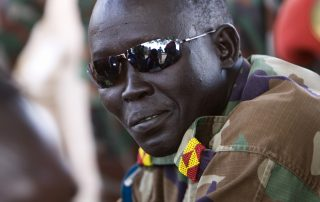 Army Officier near Juba, South Sudan (c) Bart Coolen